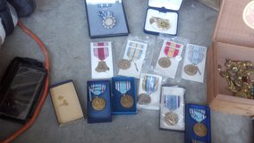 Several military collectables for sale in Travis AFB, California