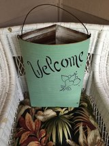 Shabby chic metal basket in Plainfield, Illinois
