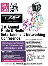 1st annual Music and Media entertainment networking Conference in Fort Benning, Georgia