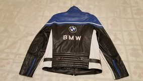 AWESOME Custom-Made BMW Motorcycle Leather Men's Jacket-- NEW! in Hill AFB, UT