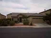 4b2b house 2 car garage. Desert Landscaping in Nellis AFB, Nevada
