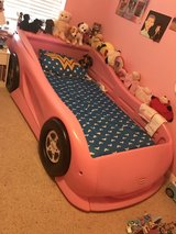 Pink Race Car Bed in Baytown, Texas