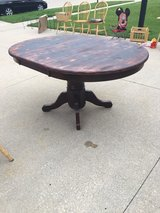 Solid Oak Table- Price drop!! in Elgin, Illinois