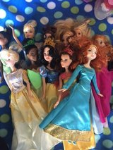 Disney Princess Barbies in New Lenox, Illinois