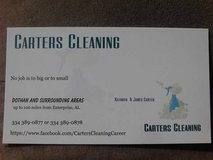 Carter's cleaning in Fort Rucker, Alabama