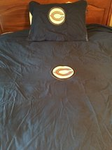 Pottery Barn Chicago Bears Duvet Queen and Sham in Oswego, Illinois
