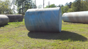 2000 gal fuel tank in Port Arthur, Texas