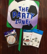 Sports party supplies - NEW in Olympia, Washington
