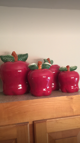 4 Red Apple Canisters in Camp Lejeune, North Carolina