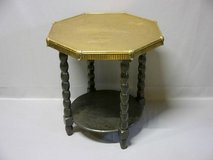 table with brass table top in Baumholder, GE