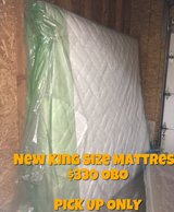Sealy Posturepedic King Size Mattress in Lake Elsinore, California