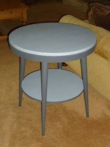 cute 2-tone gray table in Oswego, Illinois