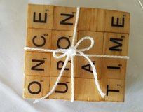 Scrabble Coasters in Clarksville, Tennessee