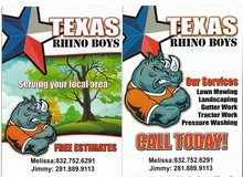 Lawn and Tractor Services in Baytown, Texas