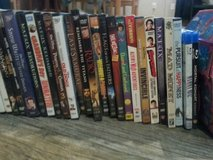 assortmant od dvds all sold together and 40 total in Elgin, Illinois