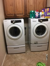 Samsung washer and dryer set in Baytown, Texas