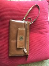 NEW Gianni Bernini brown leather clutch/wallet in Okinawa, Japan
