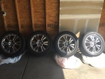 Rims with used tires for sale in Buckley AFB, Colorado