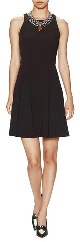Gwen Crepe Fit And Flare Dress Retail $385 in Ramstein, Germany