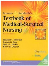 Great condition - Brunner & Suddarth's Textbook of Medical-Surgical Nursing Vol I in Travis AFB, California