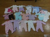 Baby Girl 3 mo. Long Sleeve Lot in Beaufort, South Carolina