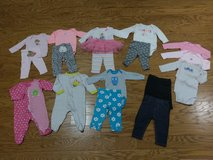 Baby Girl 3-6 mo Long Sleeve Lot in Beaufort, South Carolina