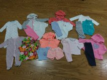 Baby Girl 6 mo Long Sleeve Lot in Beaufort, South Carolina