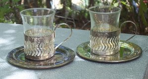 Silver Demitasse Cup Set (2) in Alamogordo, New Mexico
