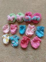 Baby Girl Slipper and Gloves Lot in Beaufort, South Carolina