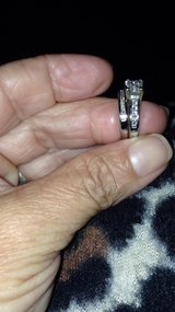 wedding Set14 k  white Gold  with diamonds size 3 in Hopkinsville, Kentucky