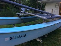 1982 Hobie 16 catamaran boat in Warner Robins, Georgia