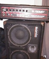 Peavy Bass amp with 2 10 inch speaker cab in St. Charles, Illinois