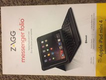 ZAGG Messenger Folio Case with Bluetooth Keyboard for iPad mini 4 - Black in Clarksville, Tennessee