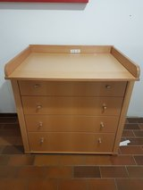 dresser with changing table in Springfield, Missouri