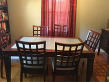 Glass Table and chairs in Fort Bragg, North Carolina
