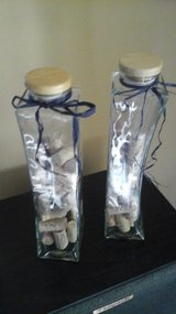 Two Glass Containers That Contain Wine Bottle Corks in Glendale Heights, Illinois