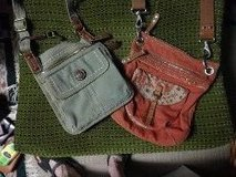 Fossil bags - like new - slimline, over the shoulder, sturdy and fun... in Huntsville, Alabama