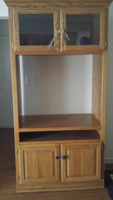 Solid wood tv stand in Fort Drum, New York