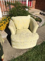 upholstered swivel chair in Belleville, Illinois