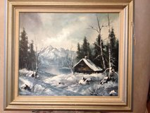 CANVAS OIL PAINTING BY B.JOHNSON in Elgin, Illinois