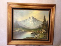 CANVAS OIL PAINTING BY K WOODALL. in Algonquin, Illinois