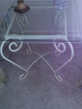 Glass wrought iron table in Perry, Georgia