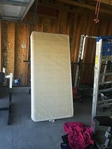 Twin bed box spring in Fort Irwin, California