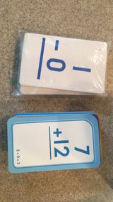 Addition/Subtraction Flash cards in Baytown, Texas