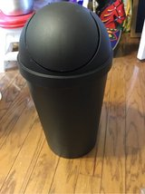 Black Small Trash Can in Fort Campbell, Kentucky