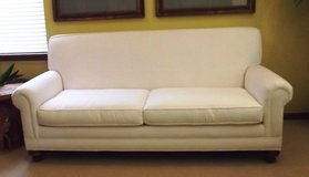 Couch White Like New Moved Must Sacrifice in Naperville, Illinois