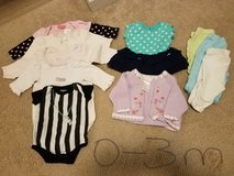 Baby clothes 0-3 m in Fort Carson, Colorado