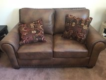 Leather Love Seat in 29 Palms, California