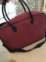 "18"" maroon luggage piece in Perry, Georgia"
