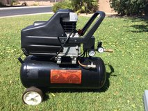 AIR COMPRESSOR (2HP, 8 GAL) and ACCESSORIES in Yuma, Arizona